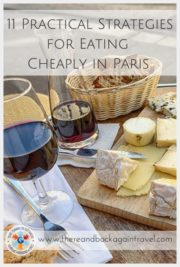 8 Practical Strategies for Eating cheaply in Paris
