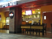 Pei Wei Asian Restaurant at the MSP airport