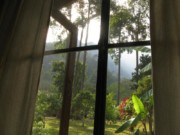 The view from the window of my bungalow at Chiang Dao Nest