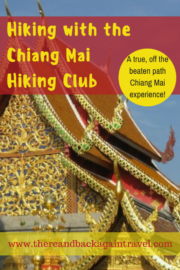 HIking with the Chiang Mai HIking Club