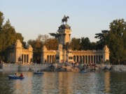 Parque Retiro Madrid Spain
