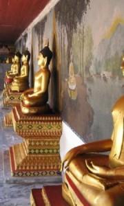The temple at Doi Suthep, Chiang Mai, Thailand
