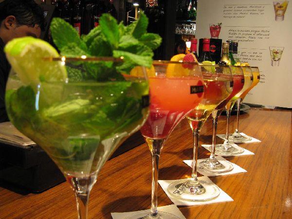 Fabulous Friday Foto: Martinis at the Mercado San Miguel; Madrid, Spain