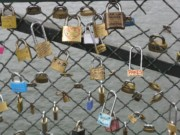Locks of Love in Paris