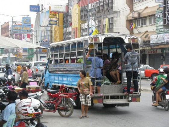 Public transportation in Thailand