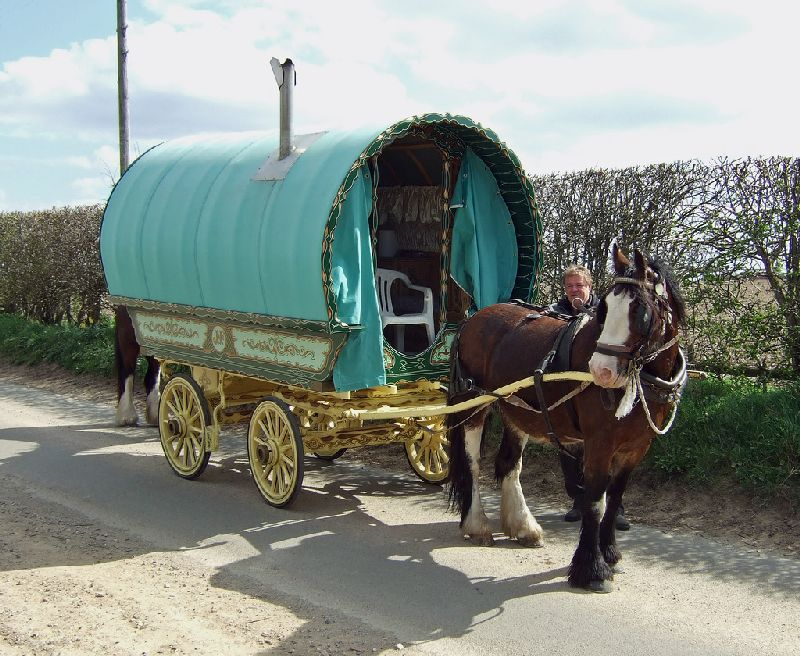 Looking Down the Road: A Gypsy Caravan Holiday; A Unique Travel Experience