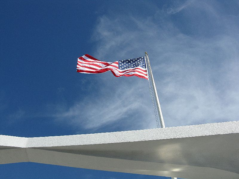 Fabulous Friday Foto: A Moving Image of the USS Arizona Memorial