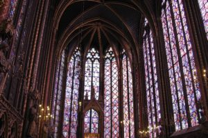 Fabulous Friday Foto: Inside Sainte Chapelle in Paris
