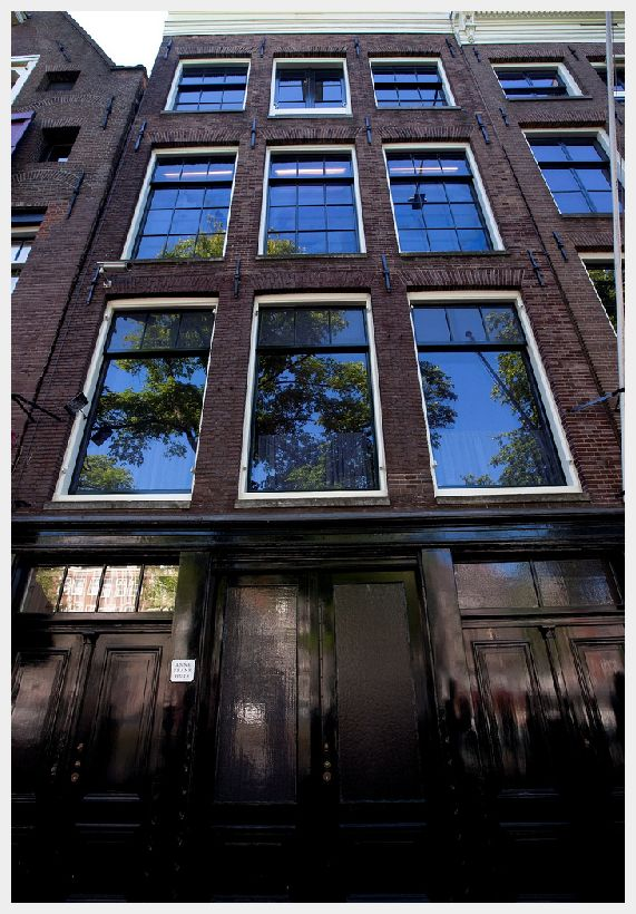 Anne Frank House Front - There and Back Again - Family ...