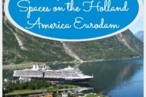 My Favorite Spaces on the Holland America Eurodam
