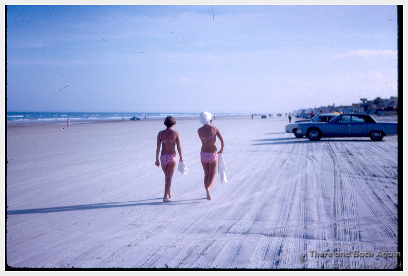Fabulous Friday Foto: Vintage Daytona Beach Photo circa 1960's