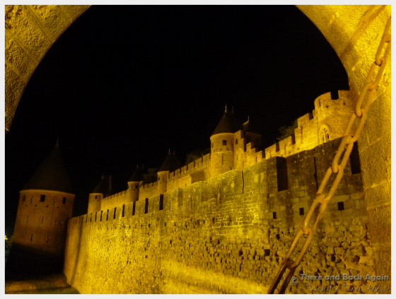 Walking around the castle at night for some great photos!
