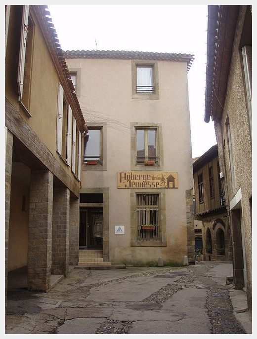 The HI Hosteling International hostel in Carcassonne France