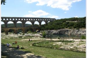 Le Pont Du Gard: A Roman Aqueduct in Provence France