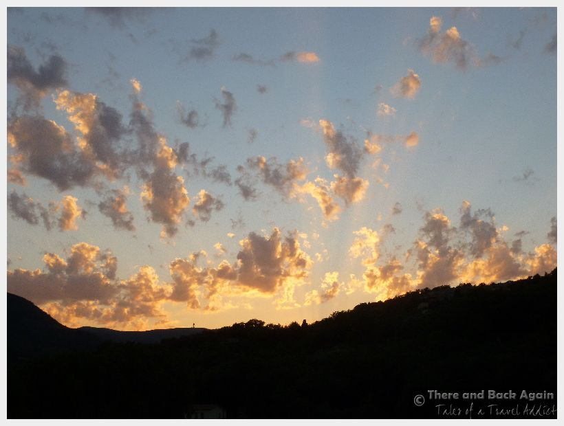 Fabulous Friday Foto: Sunset in the South of France