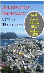 Alesund Norway on a Budget