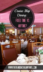 Cruise Ship Dining Options