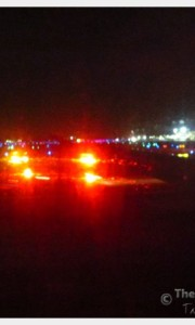 Our emergency landing at the Detroit airport