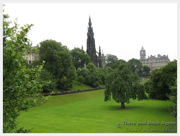 Princes Street Gardens, Edinborough Scotland