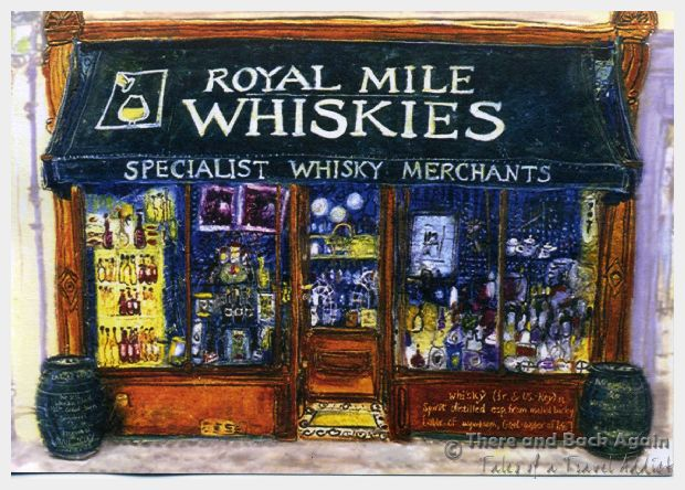 Royal Mile Whiskey Shop Edinburgh