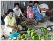 Nadi Market-family-bananas-c2011 Carole Terwilliger Meyers