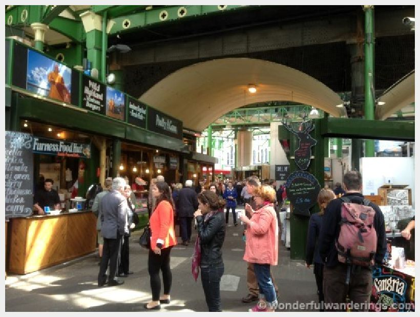 Markets of the World: Borough Market London