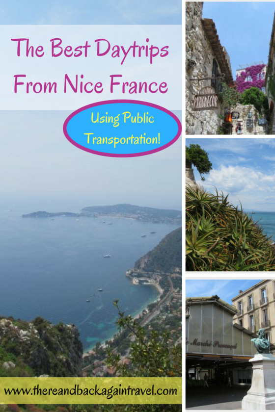 The best day trips from nice france