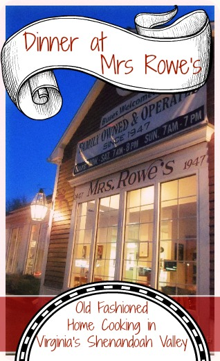 Mrs. Rowe's:  One of the Best Restaurants in Staunton VA