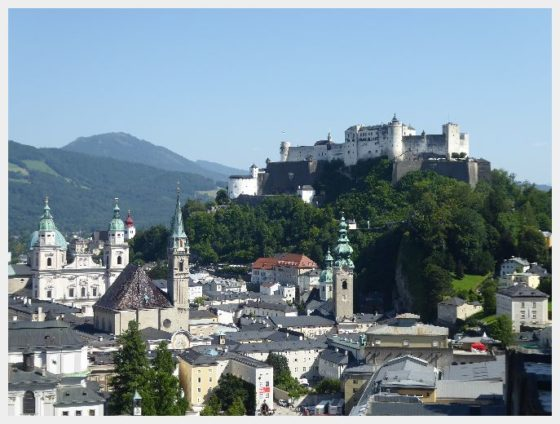 Salzburg Fortress - Austria and Switzerland Itinerary