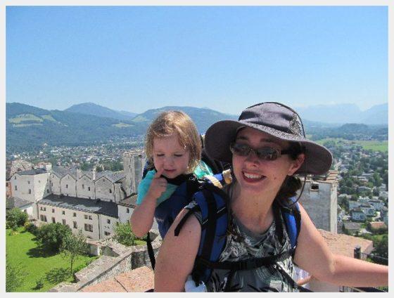 Salzburg with kids- Salzburg Fortress
