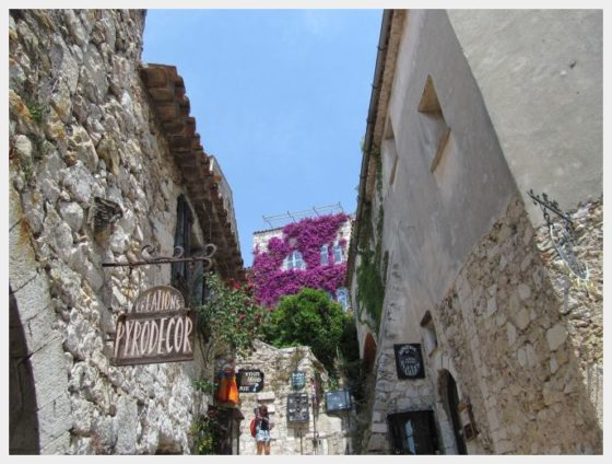 Eze Village is one of the easiest daytrips from Nice France