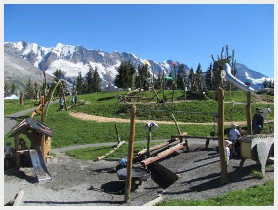 The Almendhubel Flower playground near Murren, Switzerland