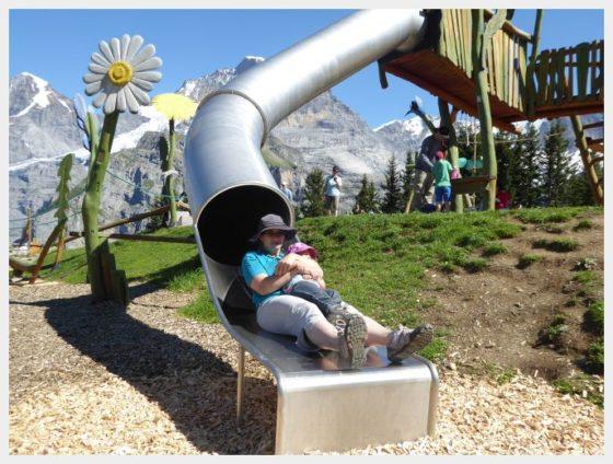 Almendhubel Flower Playground - Schilthorn Bahn