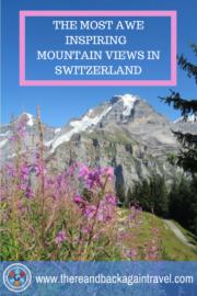 The Best Mountain Views in Switzerland