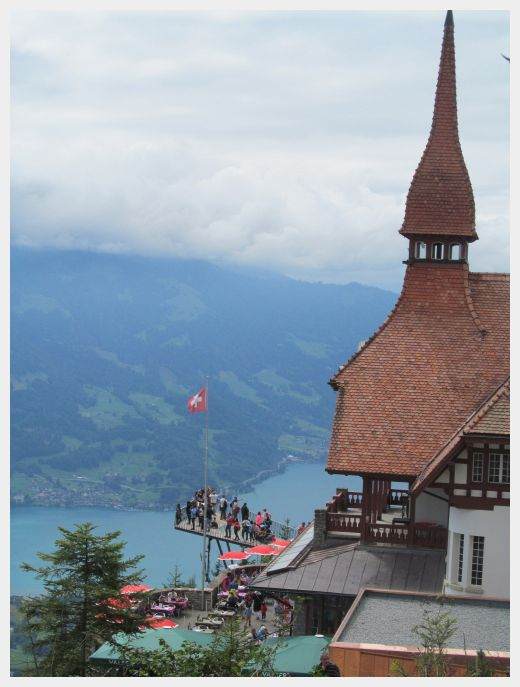Harder Kulm - Austria and Switzerland Itinerary