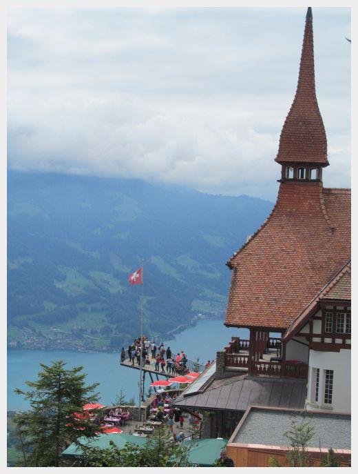 Harder Kulm is Interlaken's home mountain.