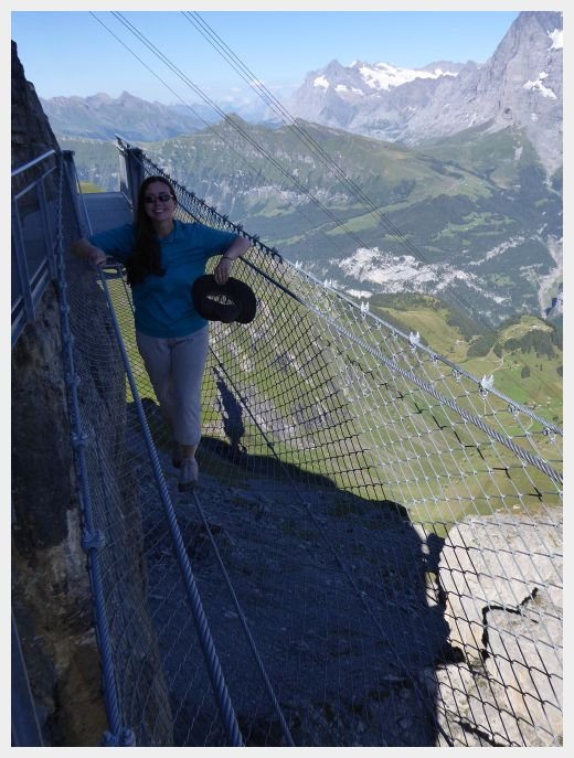 The Birg Sky Walk - Schilthorn Bahn