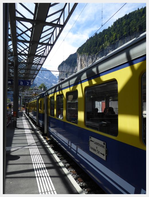 Getting a train pass may or may not be a good way to travel Switzerland on a budget