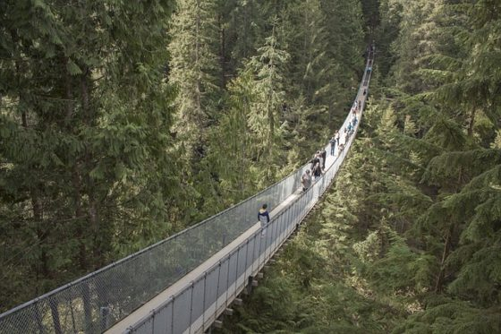 The Best Family Vacation Deals - Vancouver -C apilano Suspension Bridge