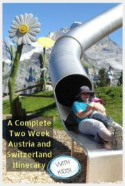 Austria Switzerland Itinerary with kids