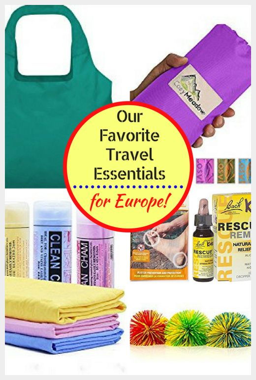Our Europe Packing List: Travel Essentials for Europe