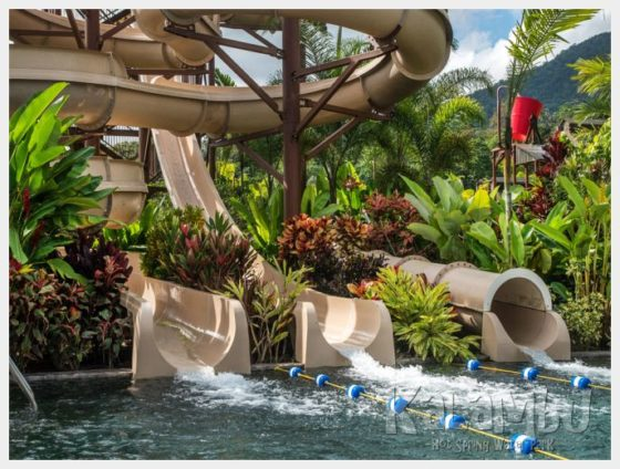 Kalambu Hot Springs - Slides