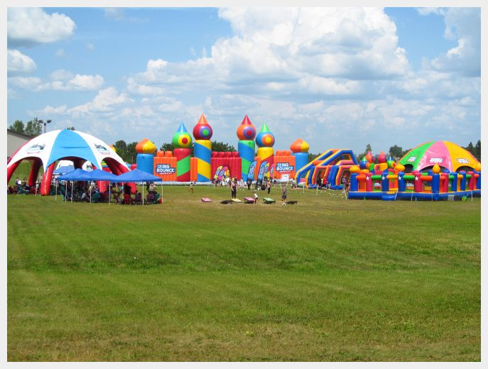 World's Largest Bounce House and Bounce Village