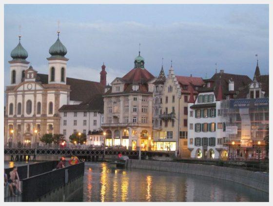 Picture perfect Lucerne, Switzerland
