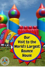 Our Day at the World's Largest Bounce House