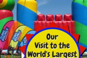 Our Experience at the Worlds Largest Bounce House