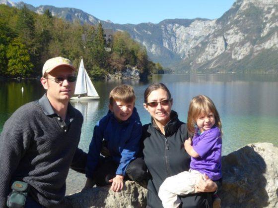 Family Photo, Lake Bohinj, Slovenia