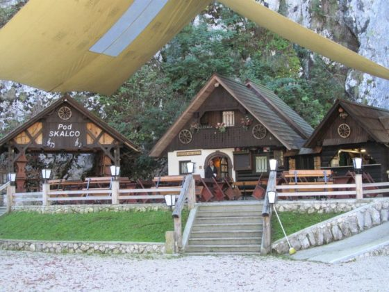 Pod Skalko, family friendly reastaurant in Lake Bohinj, Slovenia
