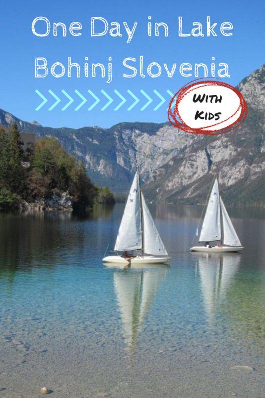Lake Bohinj Slovenia Pinterest Image