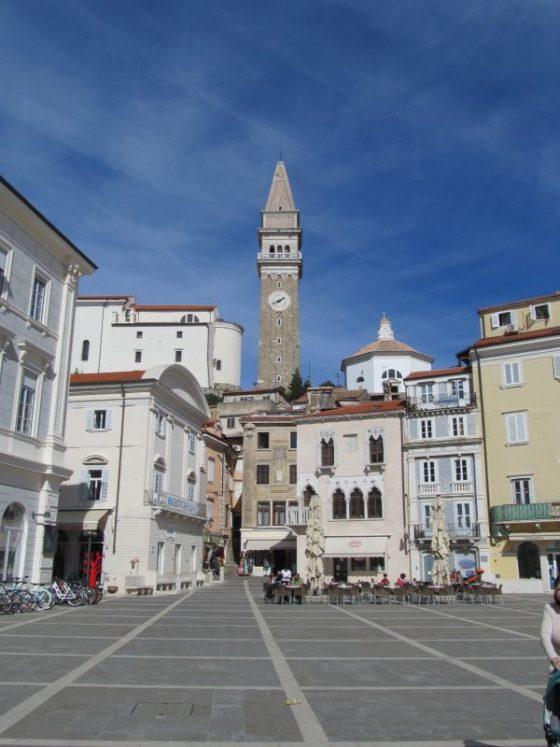 Tartini Square Piran Slovenia